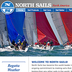 North Sails global web site platform