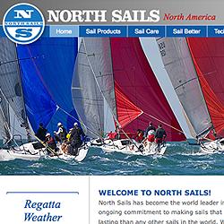 North Sails global web site platform