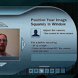 VideoLinc application interface